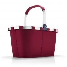 Reisenthel Carrybag Koszyk na zakupy bordowy