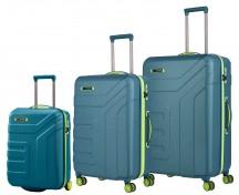 Travelite Vector Komplet 3 walizek niebieskich