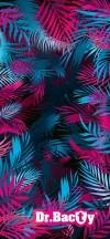 Dr.Bacty Ręcznik szybkoschnący Pink Palms