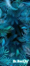 Dr.Bacty Ręcznik szybkoschnący Blue Palms