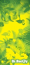 Dr.Bacty Ręcznik szybkoschnący Green Tropical