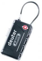 Deuter Security Kłódka szyfrowa TSA czarna
