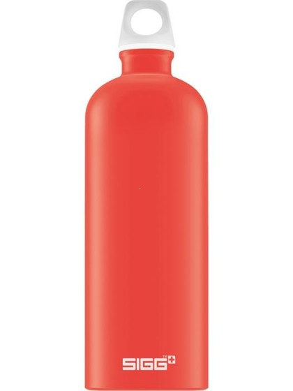 SIGG Lucid Butelka na wodę czerwona