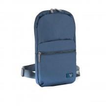 Roncato Brooklyn Revive Plecak na jedno ramię niebieski