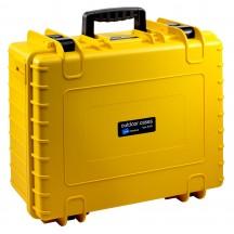B&W International Walizka specjalistyczna z podziałką wewnętrzną Outdoor Cases żółta