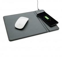 XD Collection Podkładka pod mysz z ładowarką indukcyjną szara