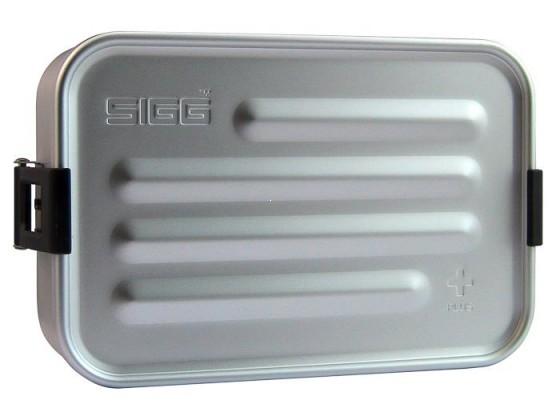 SIGG Plus S Pudełko na jedzenie srebrne