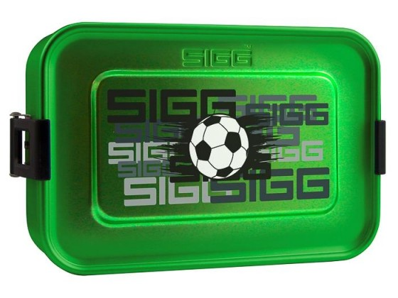 SIGG Plus S Football Pudełko na jedzenie zielone