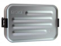 SIGG Plus L Pudełko na jedzenie srebrne
