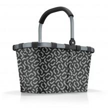Reisenthel Carrybag Koszyk na zakupy czarny wzór