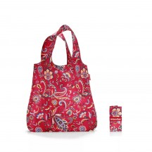 Reisenthel mini maxi shopper Torba na zakupy czerwona wzory