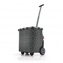 Reisenthel Carrycruiser Wózek na zakupy czarny wzór