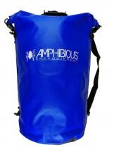 Amphibious Worek sportowy wodoodporny Tube 80L niebieski
