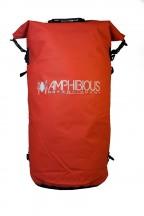 Amphibious Worek sportowy wodoodporny Tube 80L czerwony