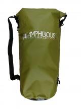 Amphibious Worek sportowy wodoodporny Tube 60L zielony
