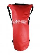 Amphibious Worek sportowy wodoodporny Tube 60L czerwony