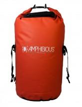 Amphibious Worek sportowy wodoodporny Tube 40L czerwony