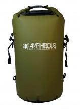 Amphibious Worek sportowy wodoodporny Tube 40L zielony