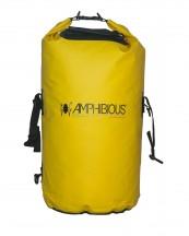 Amphibious Worek sportowy wodoodporny Tube 40L żółty