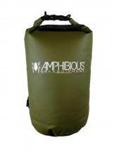 Amphibious Worek sportowy wodoodporny Tube 20L zielony