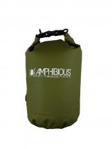 Amphibious Worek sportowy wodoodporny Tube 10L zielony