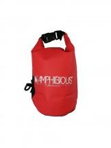 Amphibious Worek sportowy wodoodporny Tube 3L czerwony