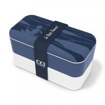 Monbento Original Pojemnik na żywność, Lunch box granatowy wzór