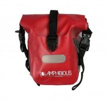 Amphibious Anura saszetka, torba na ramię czerwona
