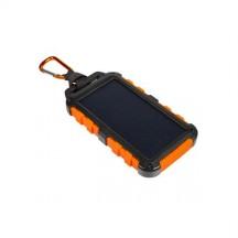 XTORM Powerbank solarny Charger 10000 mAh czarna