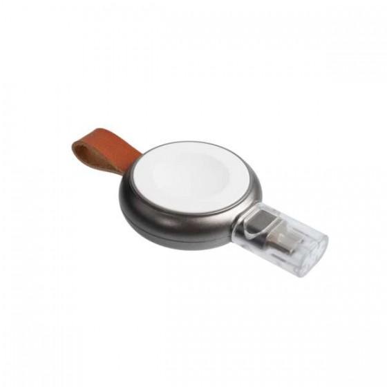 XTORM Ładowarka bezprzewodowa mini do zegarka Apple'a biała