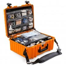 B&W International Walizka specjalistyczna medyczna Outdoor Cases pomarańczowa