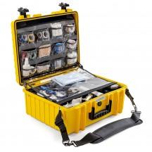 B&W International Walizka specjalistyczna medyczna Outdoor Cases żółta