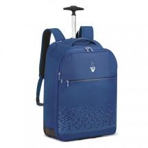 Roncato Crosslite Plecak na kółkach podróżny niebieski