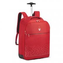 Roncato Crosslite Plecak na kółkach podróżny czerwony