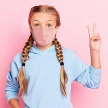 Roncato Health Maseczka przeciwwirusowa, antybakteryjna dziecięca różowa