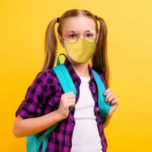Roncato Health Maseczka przeciwwirusowa, antybakteryjna dziecięca żółta