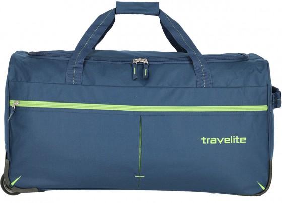 Travelite Basics Fast Torba podróżna na kółkach granatowa