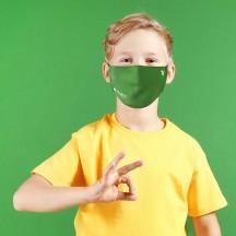 Roncato Health Maseczka przeciwwirusowa, antybakteryjna dziecięca zielona