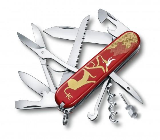 Victorinox Scyzoryk Huntsman Year of the Ox 2021 czerwony