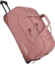 Travelite Kick Off Torba podróżna na kółkach różowa