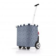 Reisenthel Carrycruiser Wózek na zakupy granatowy wzór