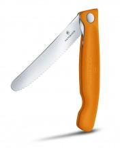 Victorinox Swiss Classic Nóż składany do owoców i warzyw pomarańczowy