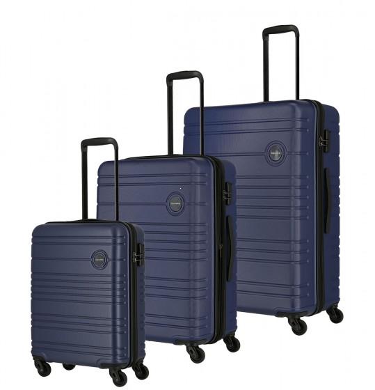Travelite Roadtrip Komplet 3 walizek granatowych