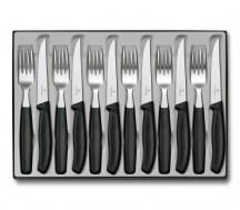 Victorinox Swiss Classic Zestaw sztućców stołowy czarny