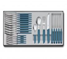 Victorinox Swiss Modern Zestaw sztućców stołowy niebieski
