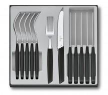 Victorinox Swiss Modern Zestaw sztućców stołowy czarny