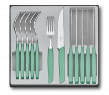 Victorinox Swiss Modern Zestaw sztućców stołowy miętowy