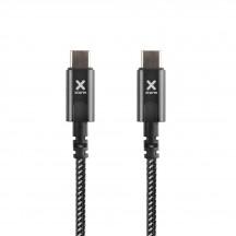 XTORM Kable USB-C - USB-C PD czarny