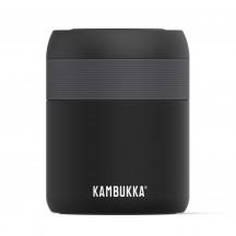 Kambukka Bora Termos na jedzenie czarny