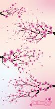 Dr.Bacty Ręcznik szybkoschnący Cherry Blossom